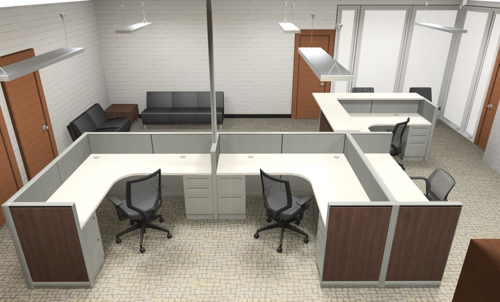 EBOE Herbert Hoover Middle Main Office Furniture Plan13d3 From Canton