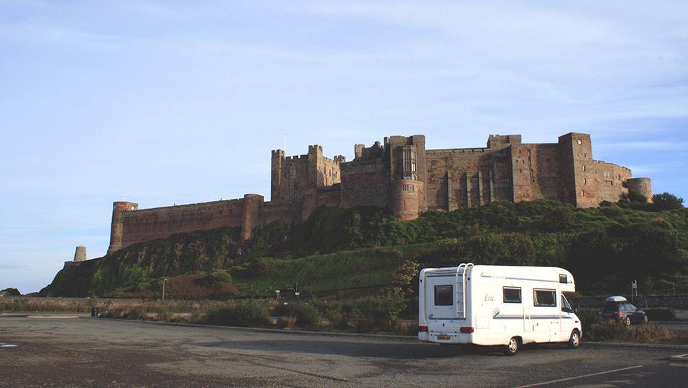 Eric-Motorhome-Bamburgh-Castle-Tori's-Tales