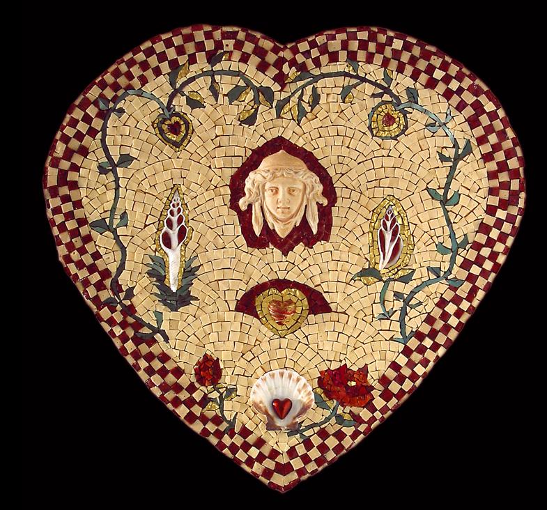 """Queen of Hearts, 18x18"""""""