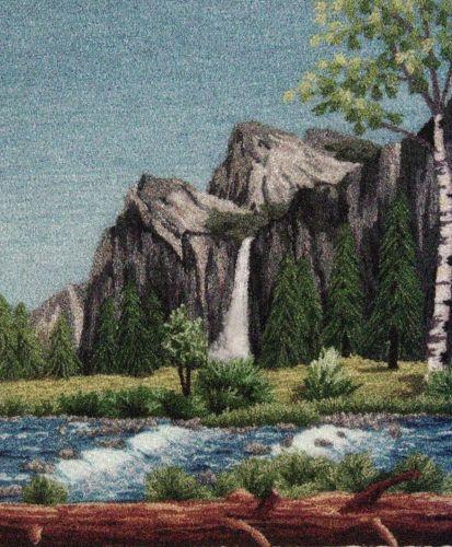 """Bridal Veil Falls,7.5 x 9"""""""