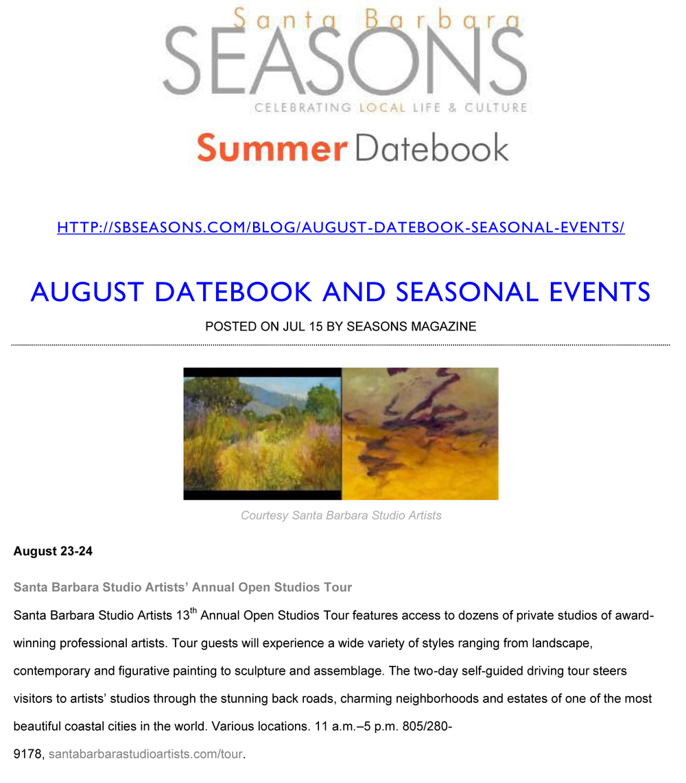 Seasons 7/15/2014