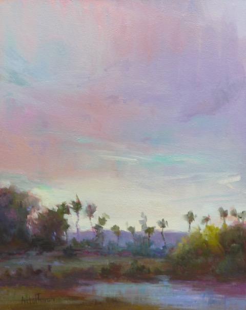 """Desert Sky  20x16"""""""