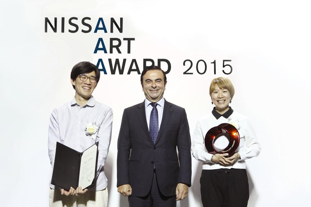 Photo: Yukiko Koshima Photo Courtesy: Nissan Art Award
