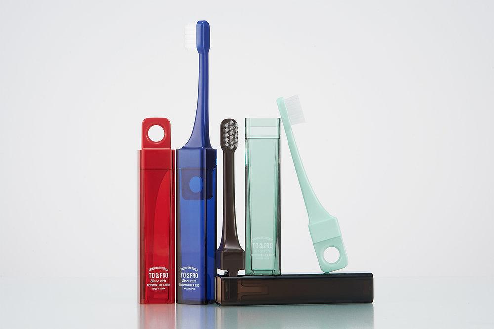 Travel Toothbrush / トラベル歯ブラシ / MISOKA + TO&FRO / 2014