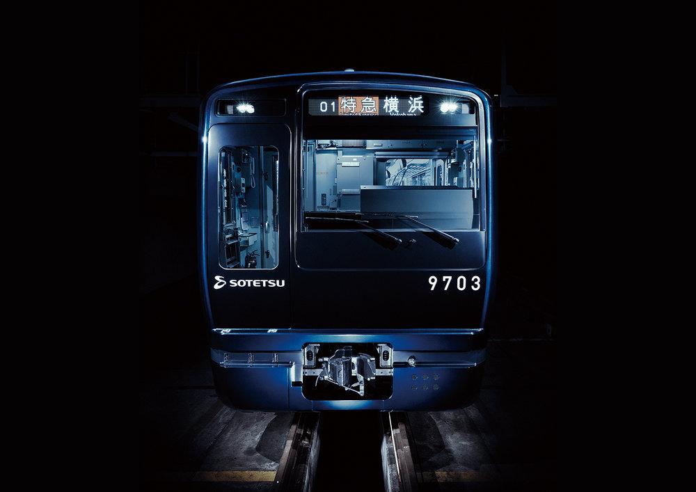 9000 Series Rail Car Redesign / 相鉄9000系車両リニューアル / Sagami Railway / 2016