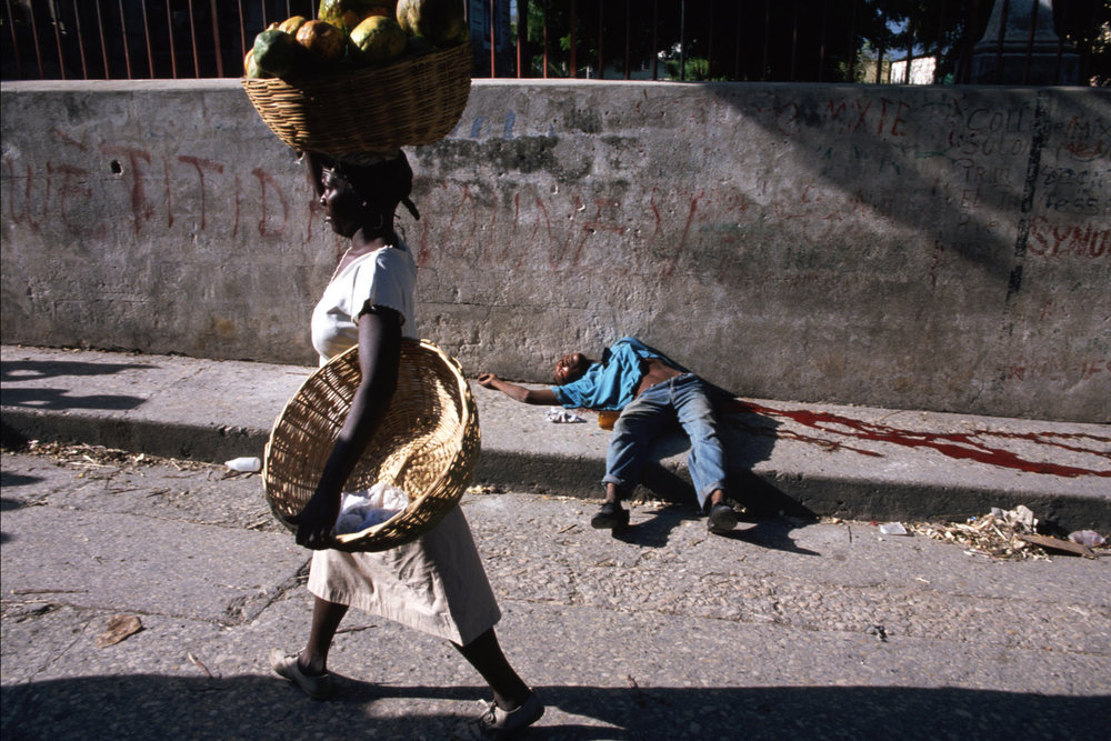 "Port-au-Prince, Haiti, 1994<span class=""photo-essays-link""><span class=""separator"">・</span><a href=""/photo-essays"">Photo-essays</a></span>"