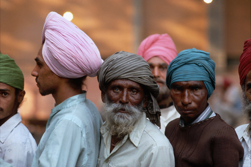 "Sikh refugees. New Delhi, India, 1984.<span class=""photo-essays-link""><span class=""separator"">・</span><a href=""/photo-essays"">Photo-essays</a></span>"