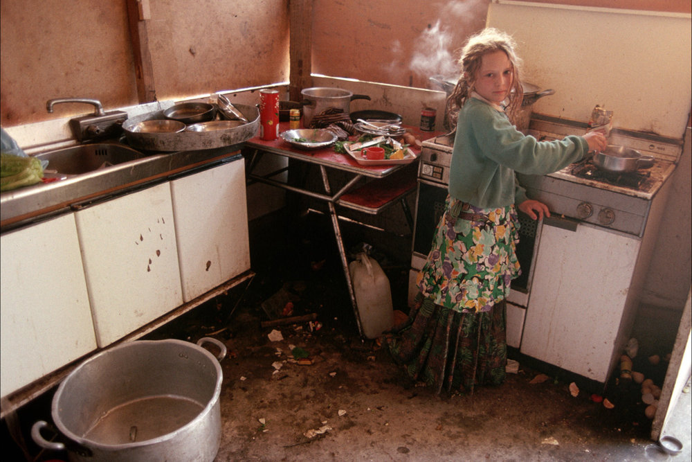 "Rom child. Sardinia, Italy, 1990.<span class=""photo-essays-link""><span class=""separator"">・</span><a href=""/photo-essays"">Photo-essays</a></span>"
