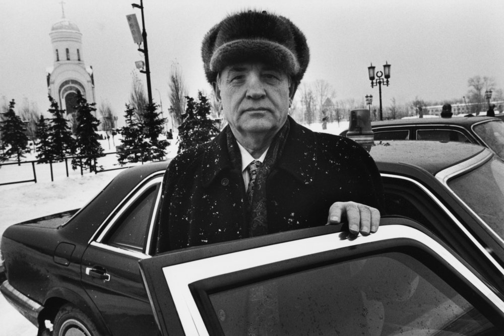 "Gorbatchev. Moscow, Russia, 1999.<span class=""photo-essays-link""><span class=""separator"">・</span><a href=""/photo-essays"">Photo-essays</a></span>"