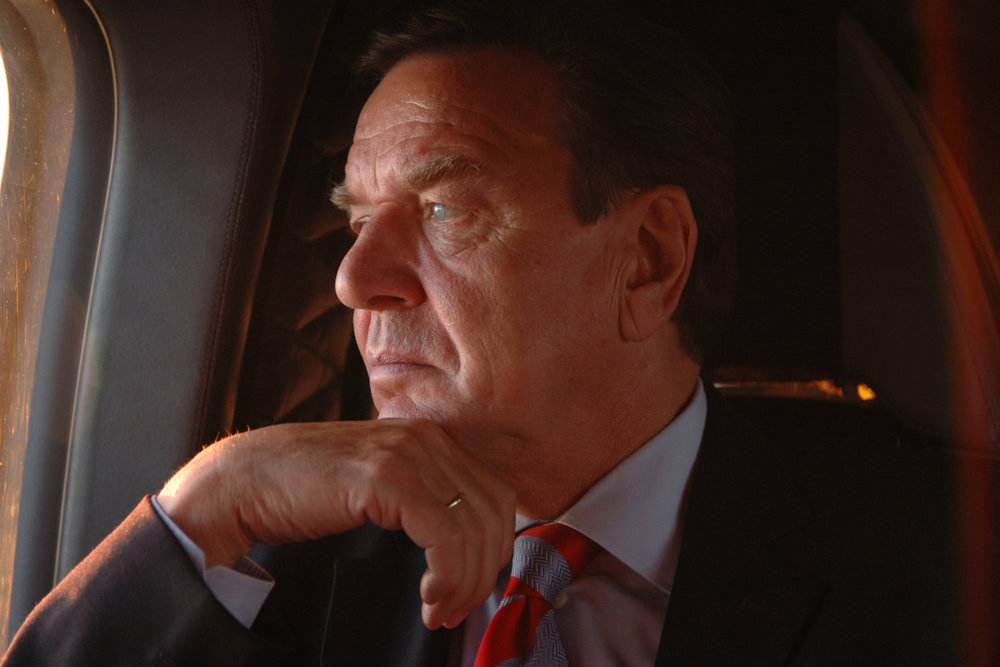 "Gerhard Schröder. Germany, 2005.<span class=""photo-essays-link""><span class=""separator"">・</span><a href=""/photo-essays"">Photo-essays</a></span>"