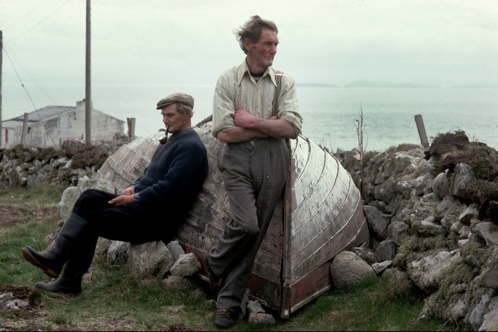 "Fishermen. Tory Island, Ireland, 1991.<span class=""photo-essays-link""><span class=""separator"">・</span><a href=""/photo-essays"">Photo-essays</a></span>"