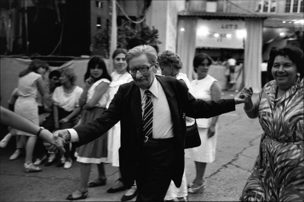 "Fireman's Ball, Bastille Day, Saint-Sulpice, 1993<span class=""photo-essays-link""><span class=""separator"">・</span><a href=""/photo-essays"">Photo-essays</a></span>"