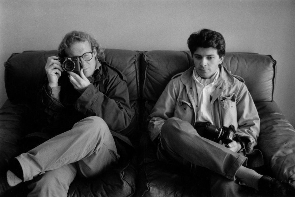 "With photographer Patrick Robert. Libya, 1986.<span class=""photo-essays-link""><span class=""separator"">・</span><a href=""/photo-essays"">Photo-essays</a></span>"
