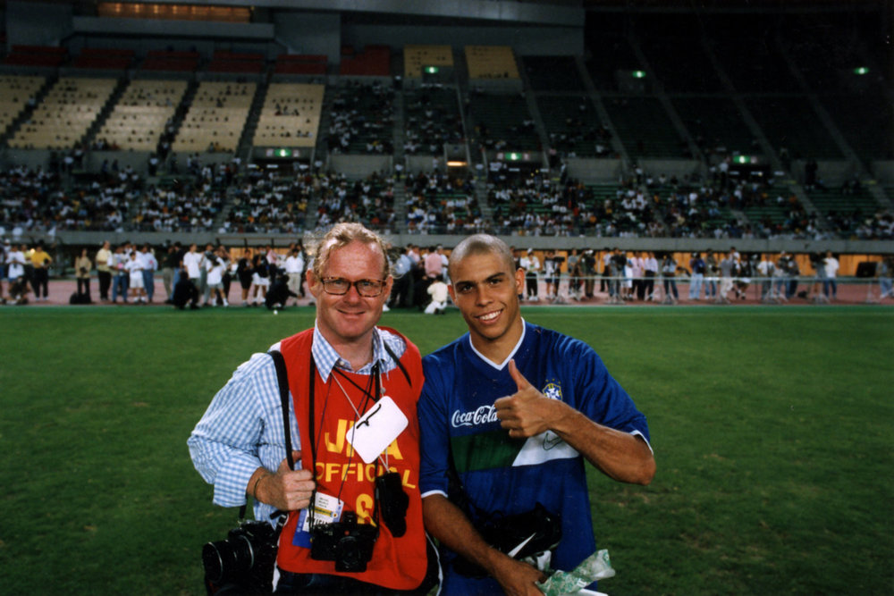 "Brazilian soccer player Ronaldo. Tokyo, 1998.<span class=""photo-essays-link""><span class=""separator"">・</span><a href=""/photo-essays"">Photo-essays</a></span>"
