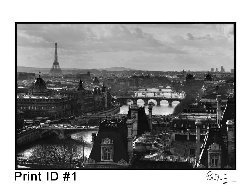 Print ID #1 - Paris, 1991