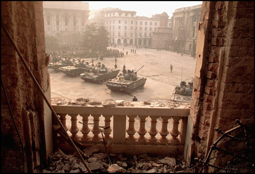March 1996, Kabul, Afghanistan --- The ruins of buildings destroyed both by Soviet attacks and the Afghan civil war