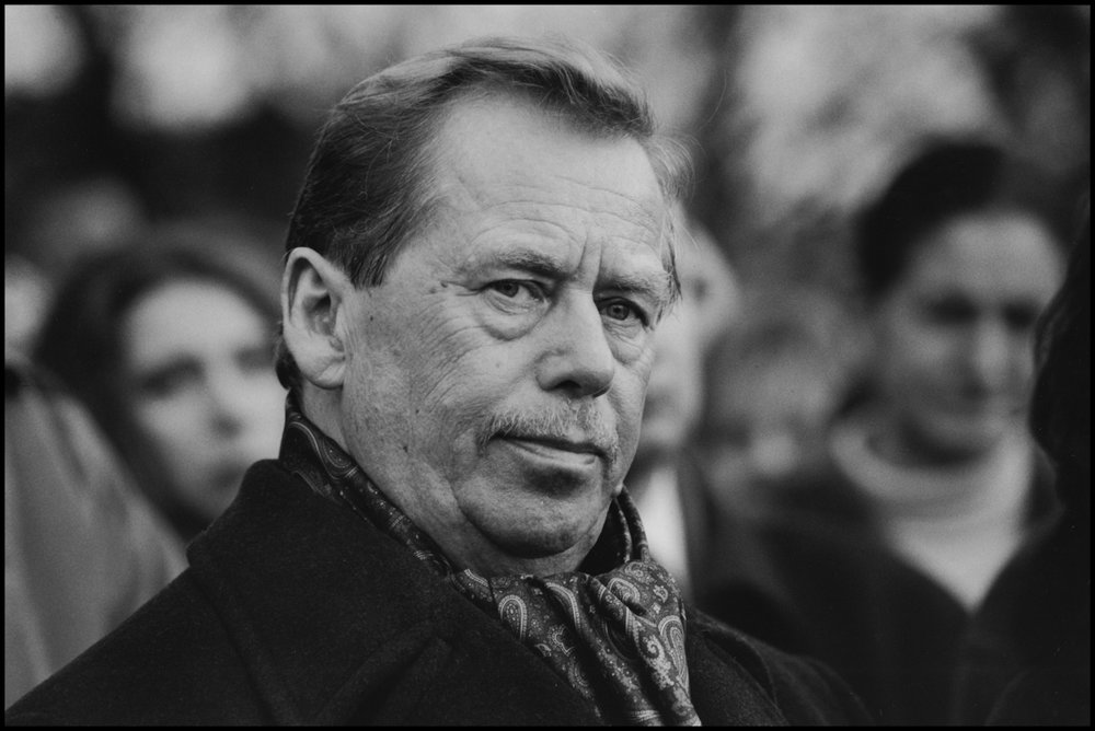 Vaclav Havel, Czechoslovakia, 1999.