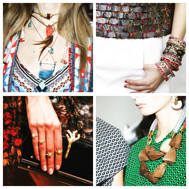 The latest Summer 2015 Jewelry Trends from Vogue! Comment which one is your favorite. #vogue #summer #trends