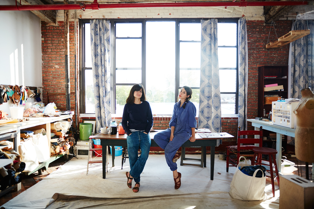 Fleabags was founded in New York in 2009, when Shira Entis and Alexandra Bell wanted an American-made, sturdy canvas bag to use during their frequent trips to the flea market. They envisioned a bag similar to a vintage toolbag, but elevated by Italian and vegetable-tanned leather details and in colors that popped -- the  Original Flea . The line has expanded to include a full assortment of canvas and leather bags and accessories, all of which incorporate this same combination of a timeless aesthetic, purposeful construction and refined details.  In 2016, the pair launched IMMODEST COTTON, a line of cotton accessories and home products made in both the United States and India, that maintains the same design and ethical standards of the Fleabags line. Learn more about IMMODEST COTTON  here .