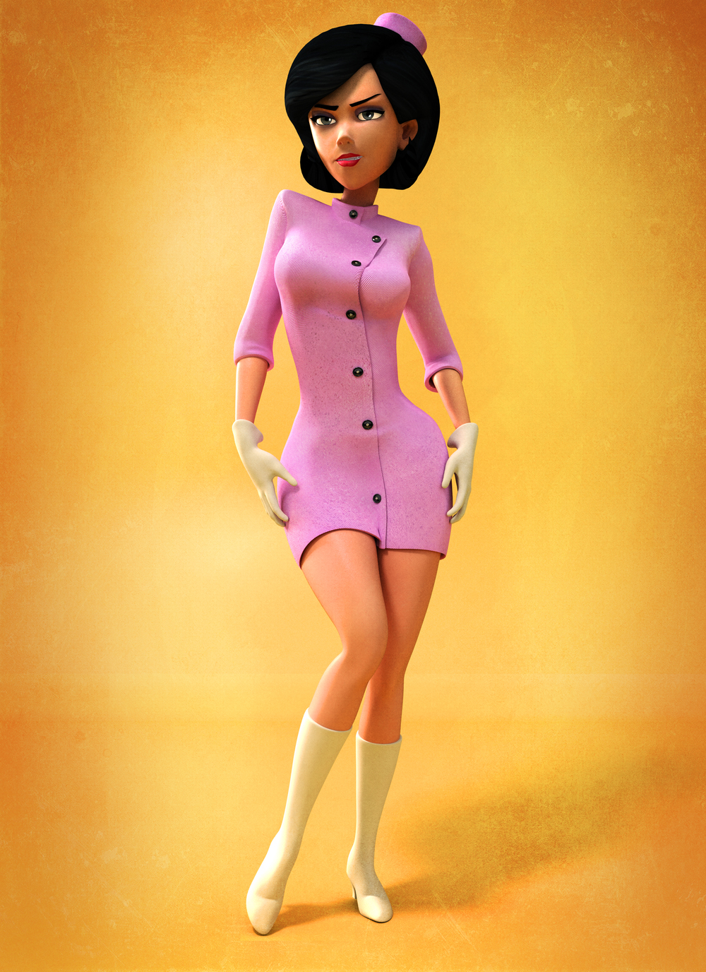 Venture Brothers: Dr Girlfriend Model and Textures