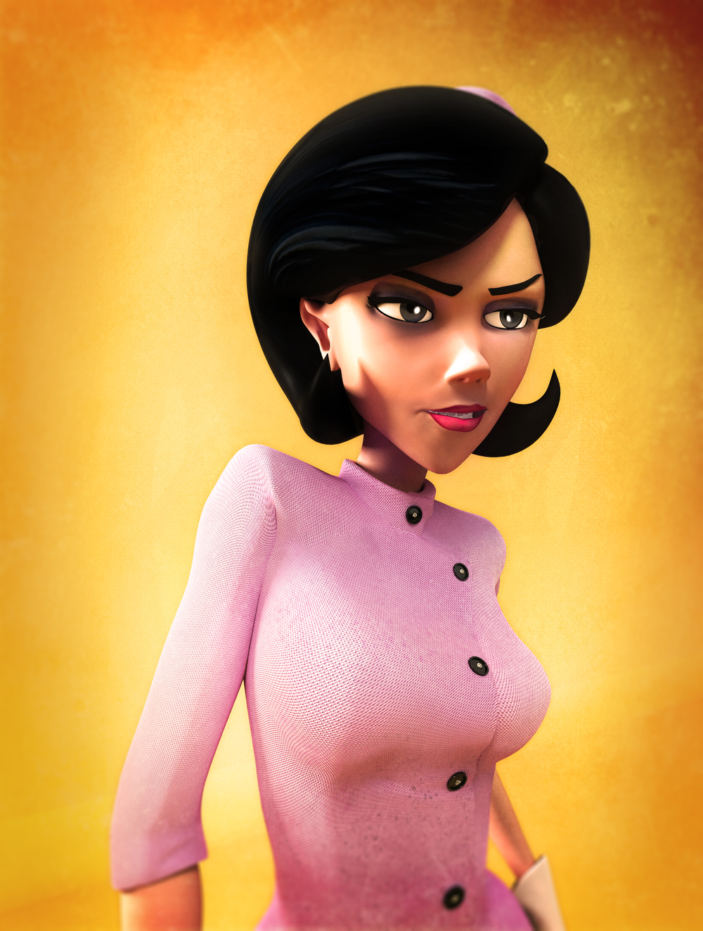 Venture Brothers: Dr. Girlfriend Model and Textures