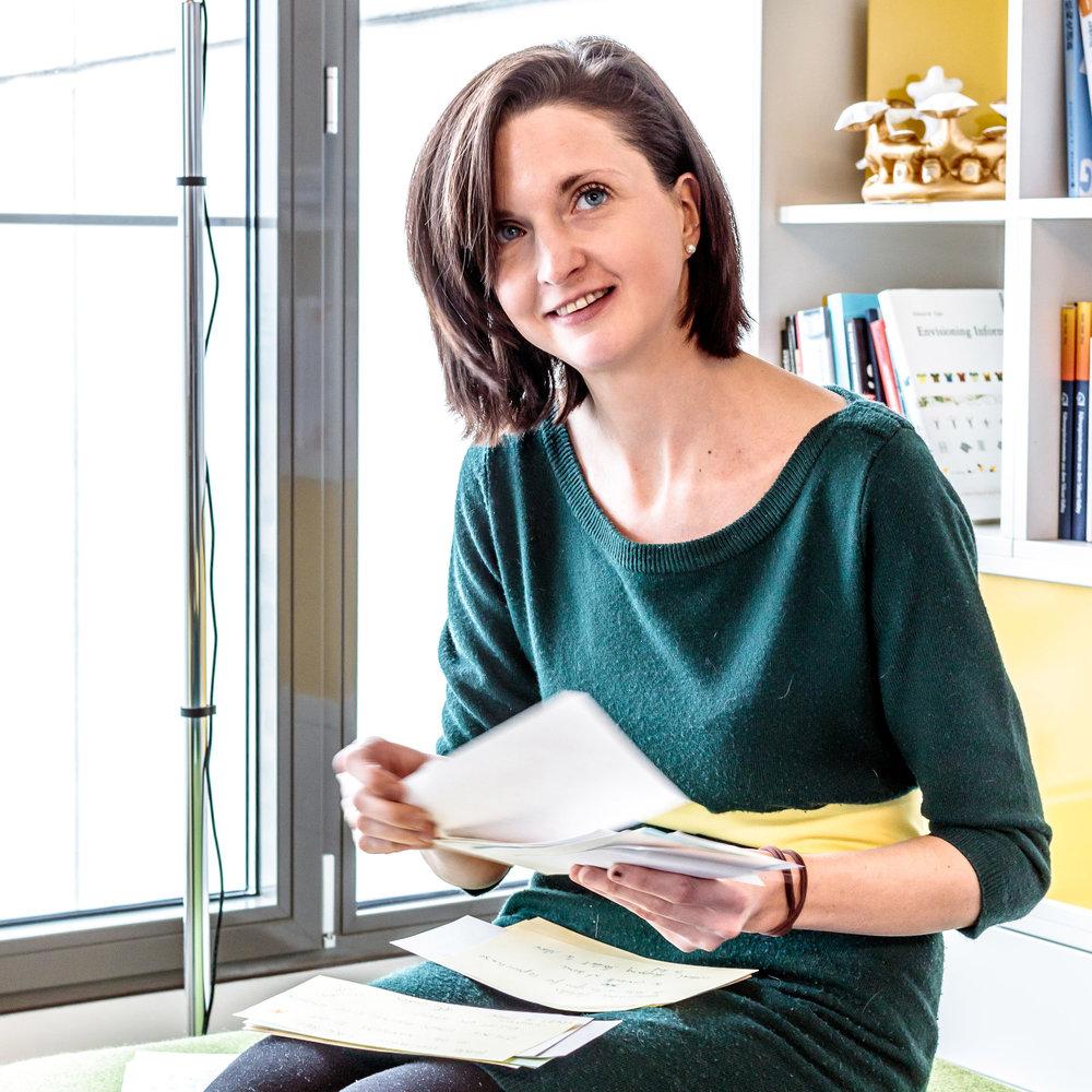 Ingrid Gerstbach - DIE DESIGN THINKING EXPERTIN
