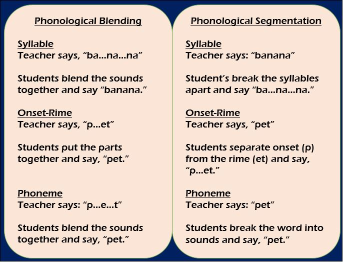 Do You Know Key Phonological Awareness Concepts Test Yourself