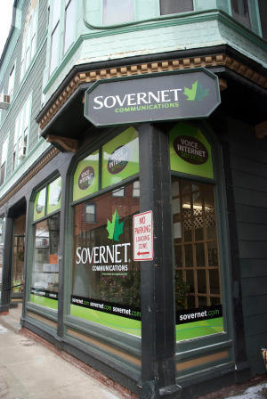 Founded in 1995, Sovernet Communications is Vermont's first and largest locally operated statewide competitive provider of residential and business telephone and Internet services. Headquartered On The Square in Bellows Falls, with facilities in Burlington and Winooski, Sovernet is committed to bringing excellent services to its customers and to supporting local communities.      https://corp.sover.net