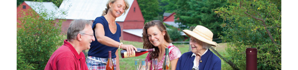 Putney Mountain Winery creates Vermont fruit wines of complexity and finesse.         http://www.putneywine.com/