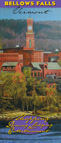 Download the Bellows Falls Downtown Guide for Dining, Shopping, Lodging and Entertainment     http://www.bellowsfalls.org/art_culture.htm