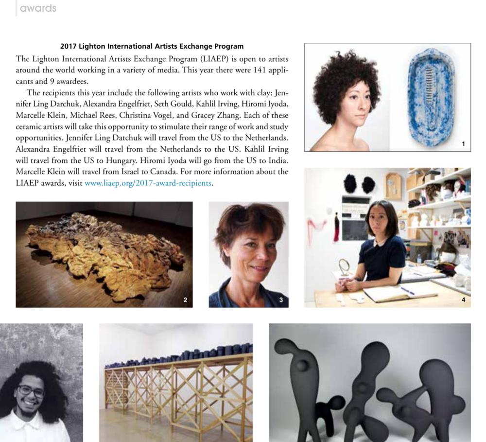 Ceramic Yearbook 2018