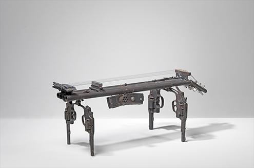 "Pedro Reyes, ""Disarm,"" Courtesy of the artist and Jack Shainman Gallery, NY"