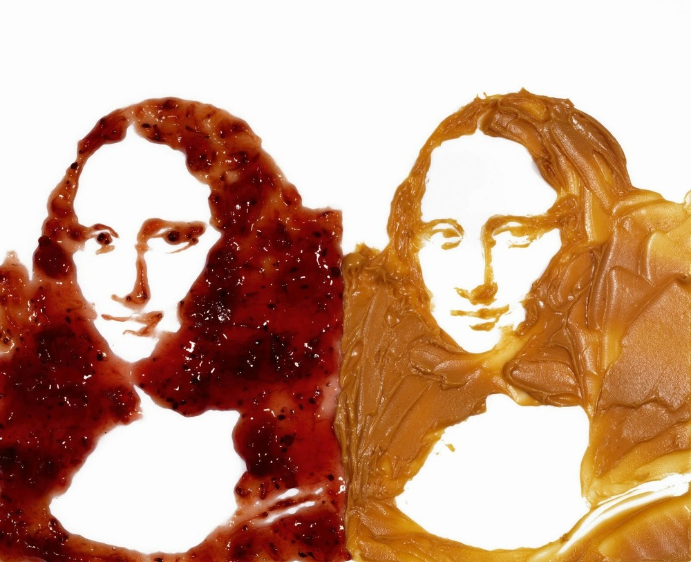 Double Mona Lisa,  2015 Vik Muniz