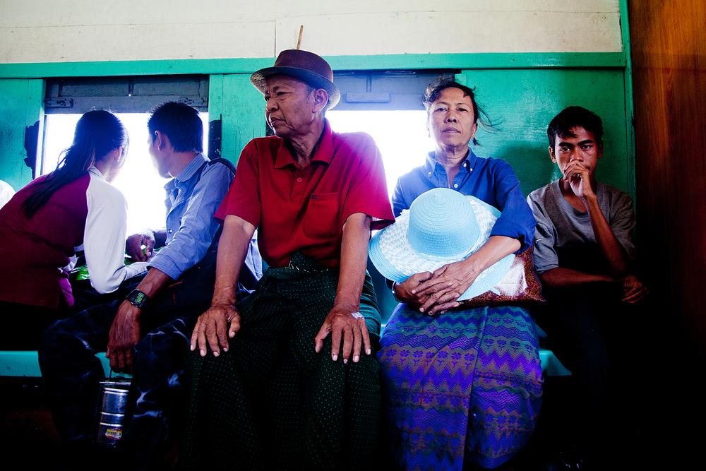Circular railway, Rangoon, Burma
