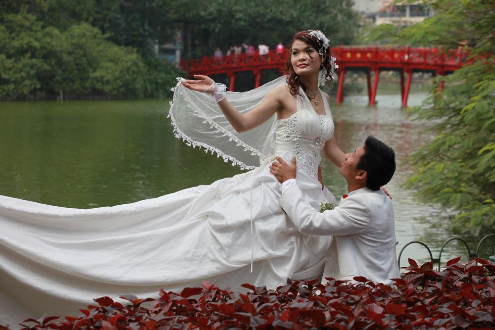 Vietnam wedding. Hanoi.