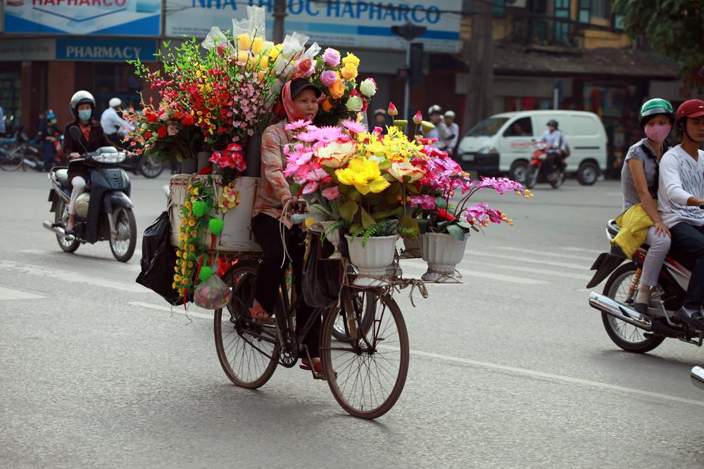 Hanoi traffic.