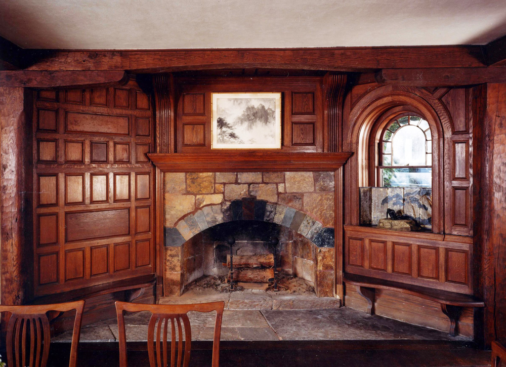 Inglenook at the Charles G. Loring House