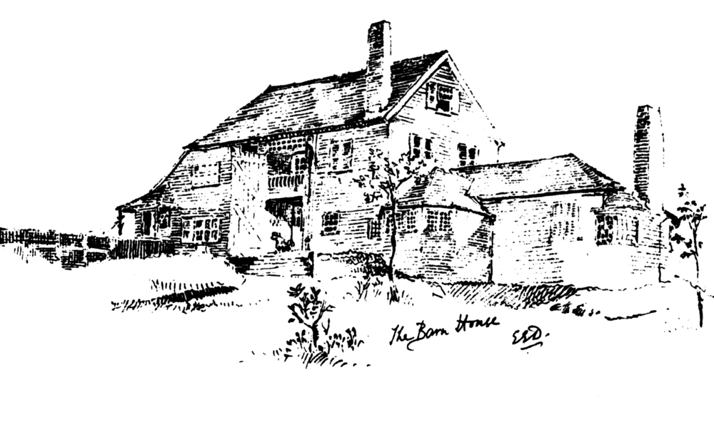 Barn House, the original structure , in 1884
