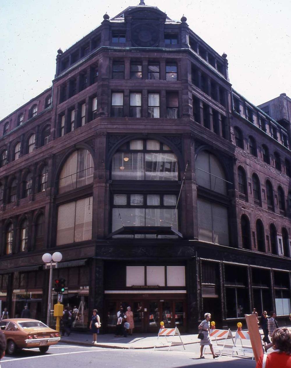 Original Jordan Marsh building