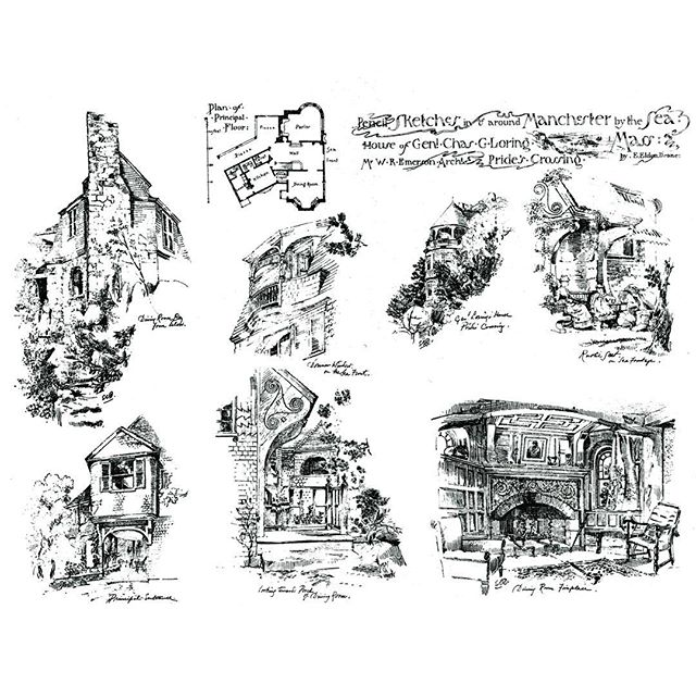 #loringhouse #holtarchitects #historicpreservation #sketches