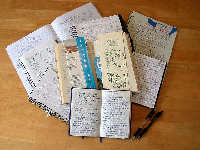 Notebook Collection by  Dvortygirl   under  CC BY