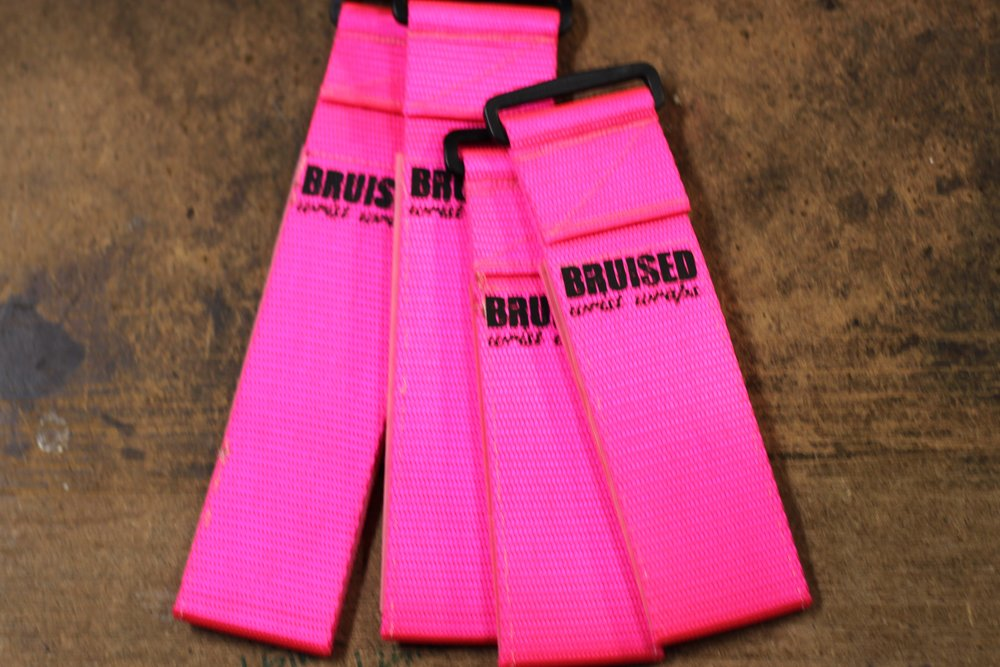 Hot Pink Wrist Wrap
