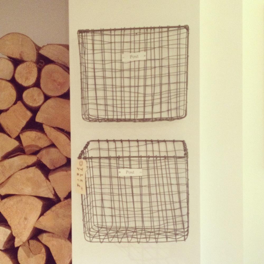 wire post baskets