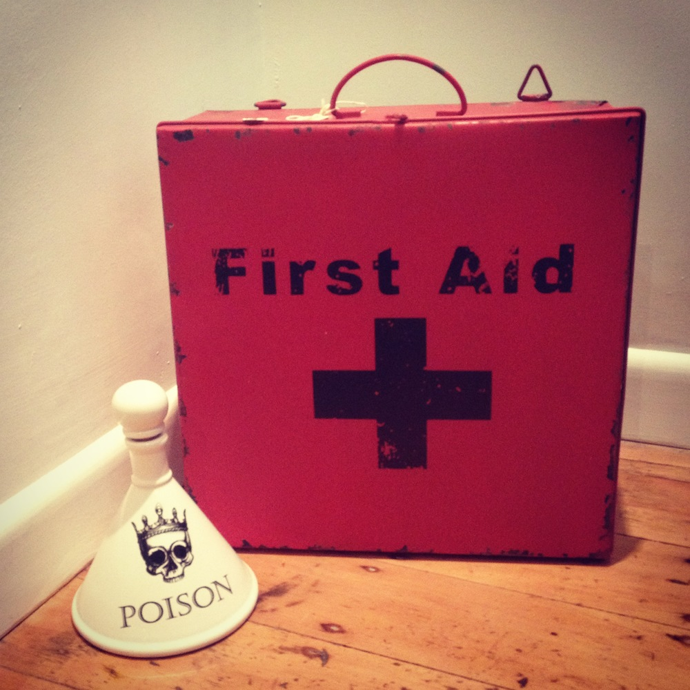 first aid wall unit