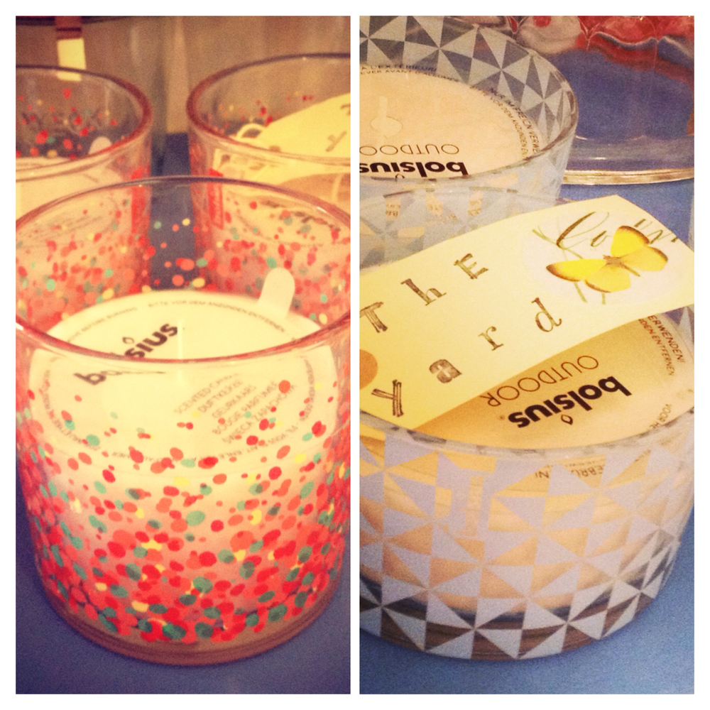 New summer candles