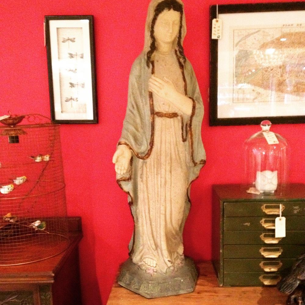 Large Madonna figure