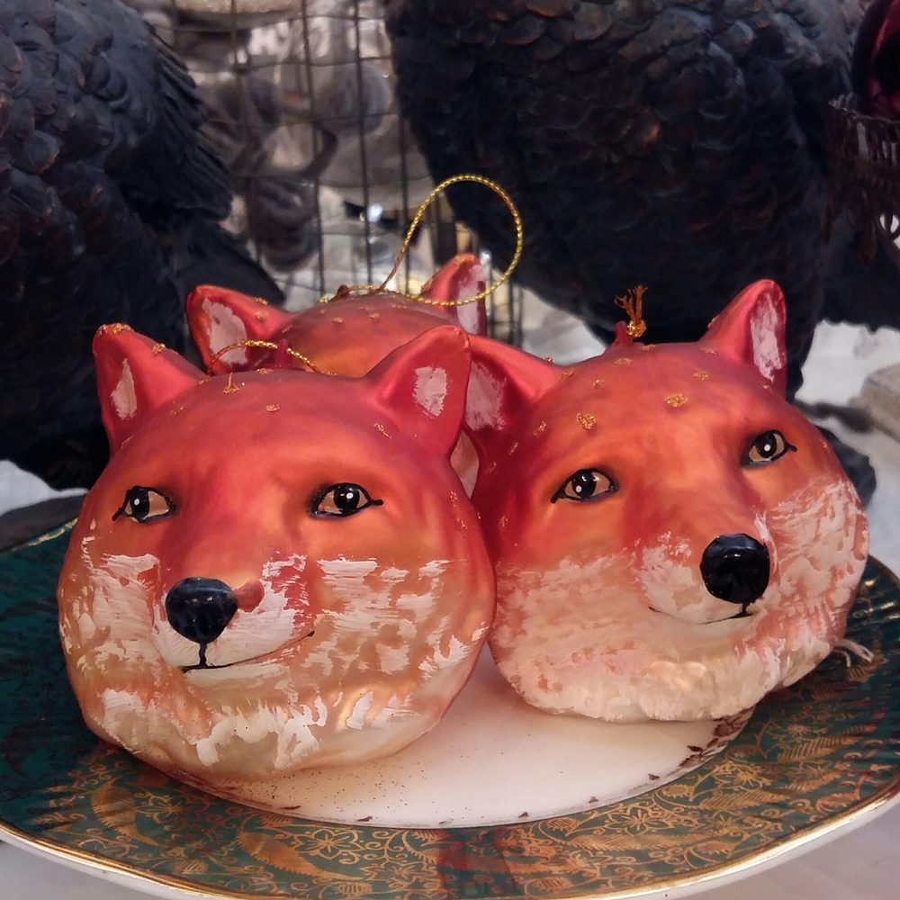 Fantastic Mr fox decorations