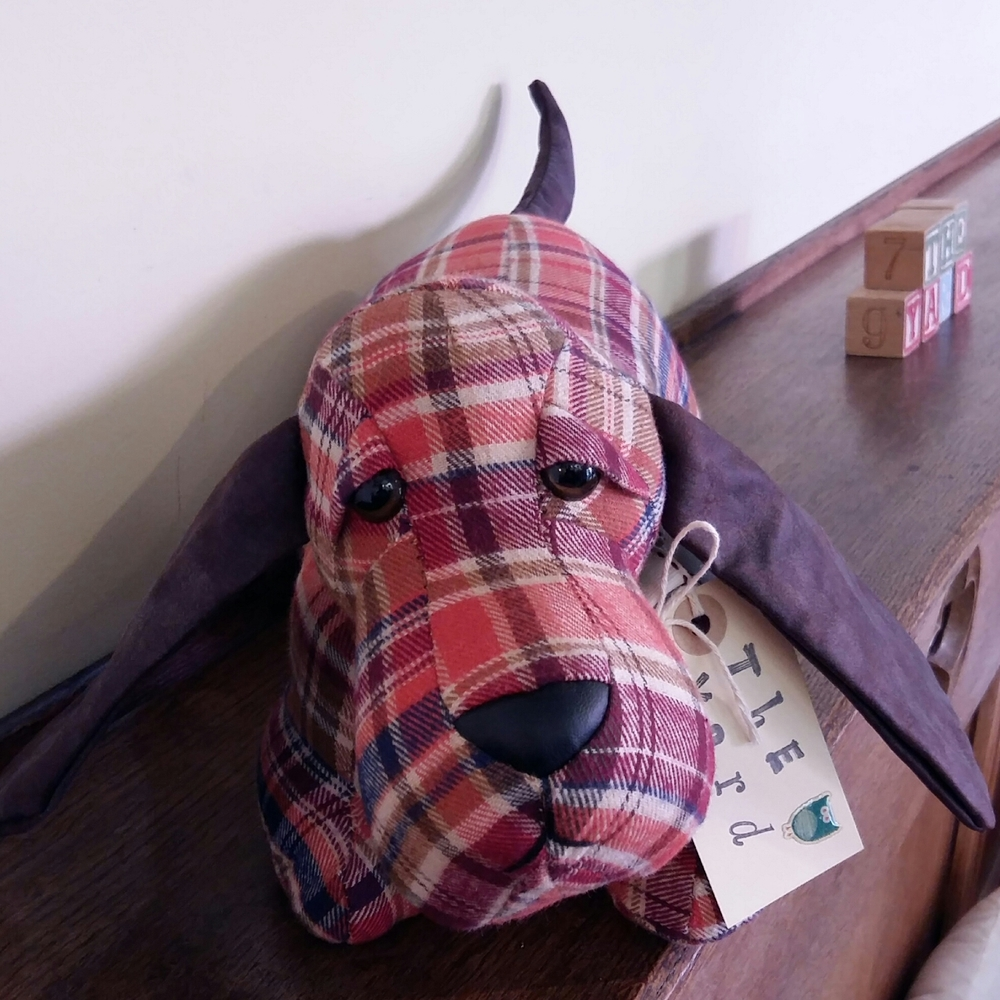 This tartan chap is also on the cute side almost to cute to be a doorstop