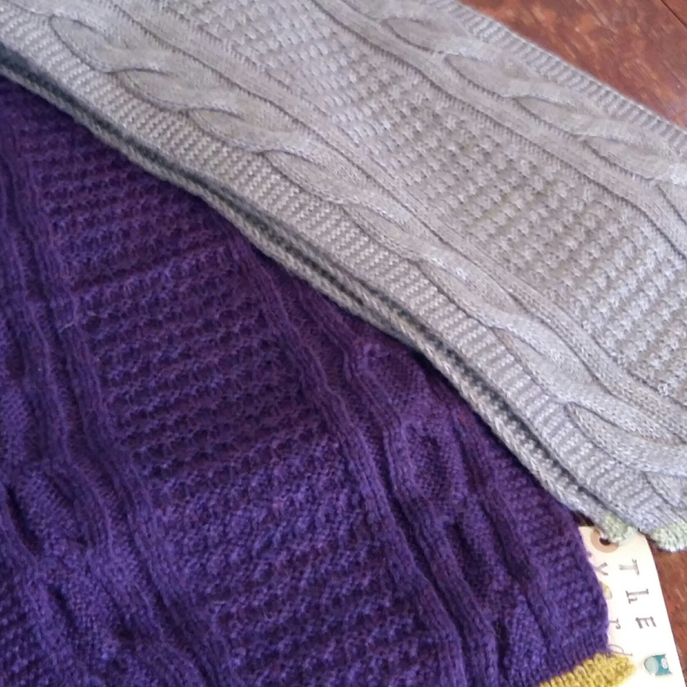 'Winter is coming' and these knitted scarfs make perfect sense