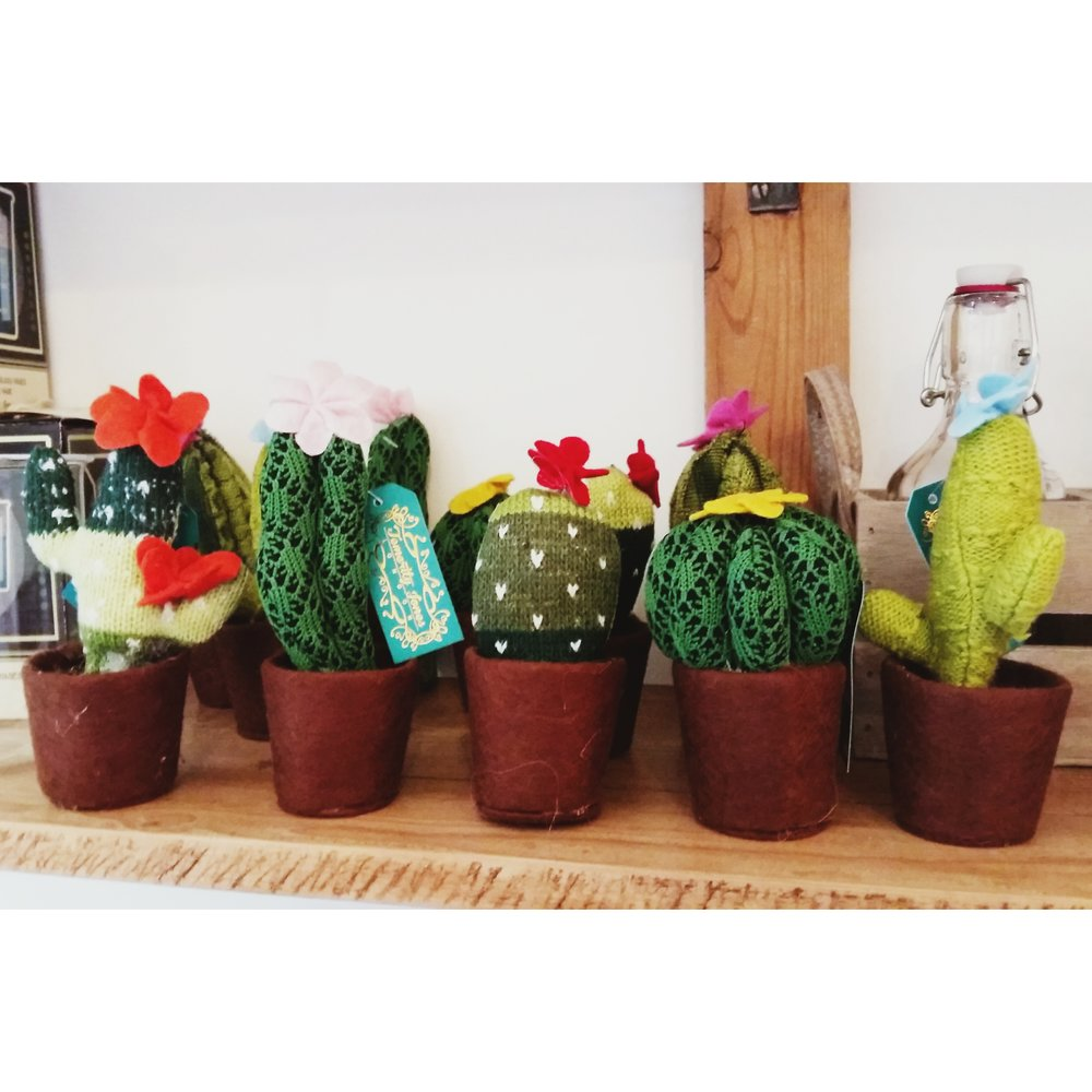Fabric cacti £3.50 each